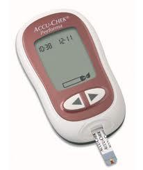 glukometr accu chek performa naší ordinace